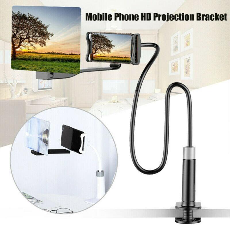 8-Zoll / 12 Zoll Mobile-Screen Phone Verstärker-justierbares Flexible alle Winkel Handyhalter HD Projection Bracket