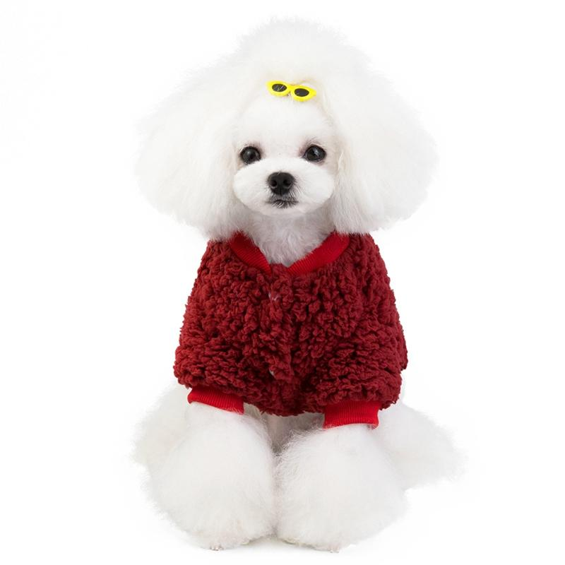 Invierno ropa para perros perro caliente capa de la chaqueta con capucha del perrito del gato Chihuahua Yorkie Pomerania Poodle Bichon Schnauzer ropa para mascotas traje