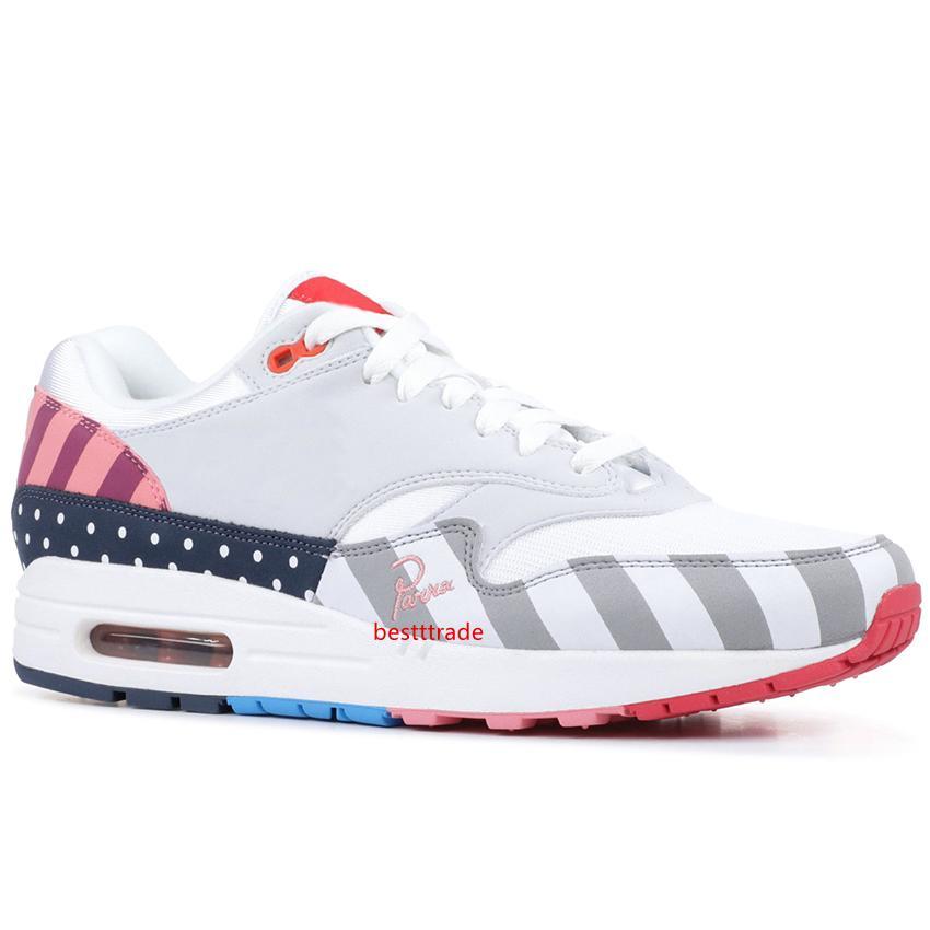 2019 zapatos corrientes de Piet Parra 1 Friends And Family Classic colorido de la manera ocasional del deporte Skateboaridng Formadores diseñador zapatillas de deporte 36-45