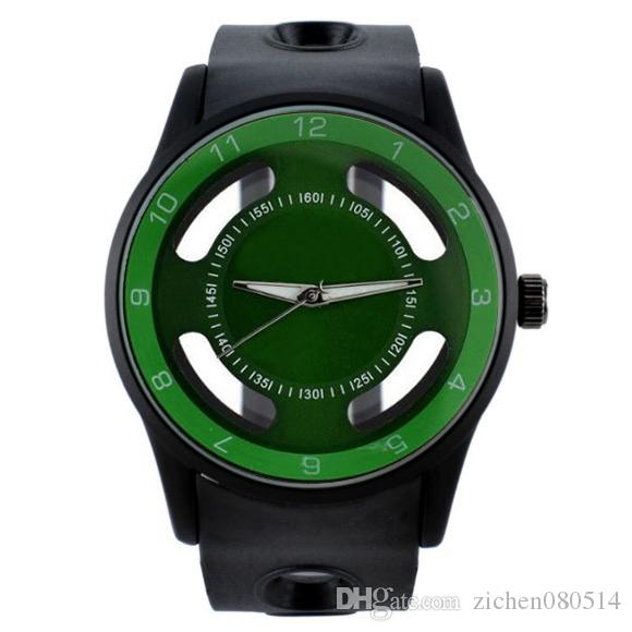 Mode-Marken-Uhren Frauen Männer Gummiband Quarzarmbanduhr N06 beobachten