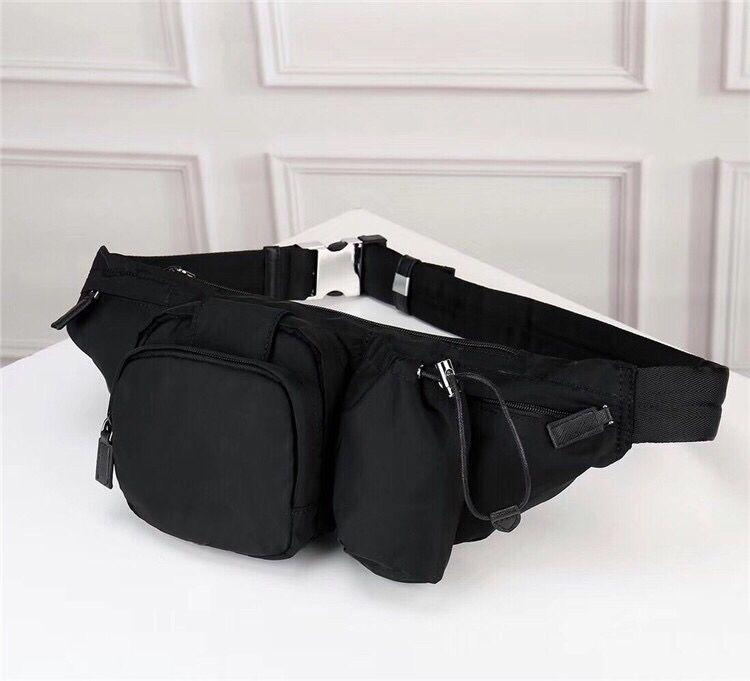 Al por mayor hombres y mujeres nuevos bolsa de tela de paracaídas de la correa de lona pecho multifuncional de la moda de bolsillo de gran capacidad de ocio al aire libre bolsa de deporte