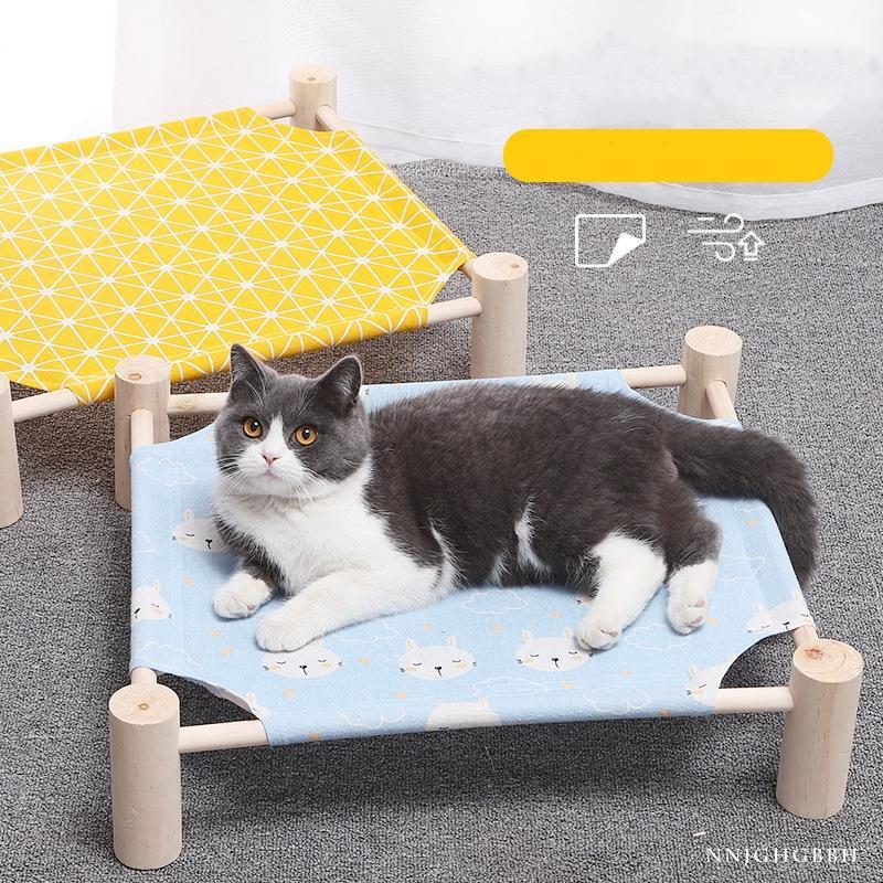 Vendita caldi di esplosione modelle 2020 Nuova Kennel traspirante Hammock rimovibile e in massello Marching Bed lavabile Pet Estate gatto fossa di scolo del cane