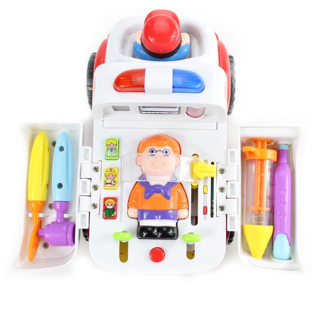 Bump /& Go treno con luci lampeggianti e musica suoni giocattoli bambino