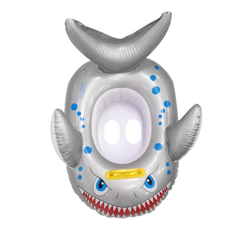 Enfants gonflables de natation Siège flotteur Anneau - Poisson