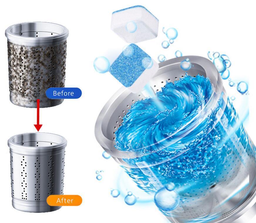 Antibakteriyel Çamaşır Makinesi Temizleyici Kireç çözücü Derin Temizleme Temizleyici Deodorant Dayanıklı Çok Fonksiyonlu Çamaşır Ücretsiz Kargo JXW627 Malzemeleri