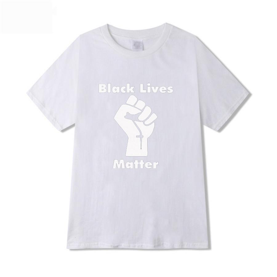 I Cant Breathe! 19SS Confortable T-shirt pur coton col rond manches courtes Pure Color Hommes Femmes Designer T-shirts Version en vrac # 277