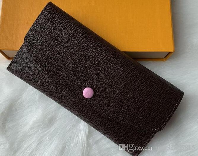 Wallet Zipper Leather 9 Single Purse Pocke Designer Lady Wholesale Colors Women Men Fashion Long Ladies Preux