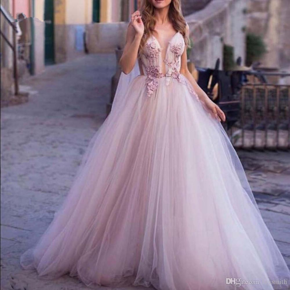 Romantic Floral Lavender Evening Dresses 10 With Long Tulle Cloak Ribbon  Lave Prom Gowns Backless Party Dress Abendkleider Online Women Clothing