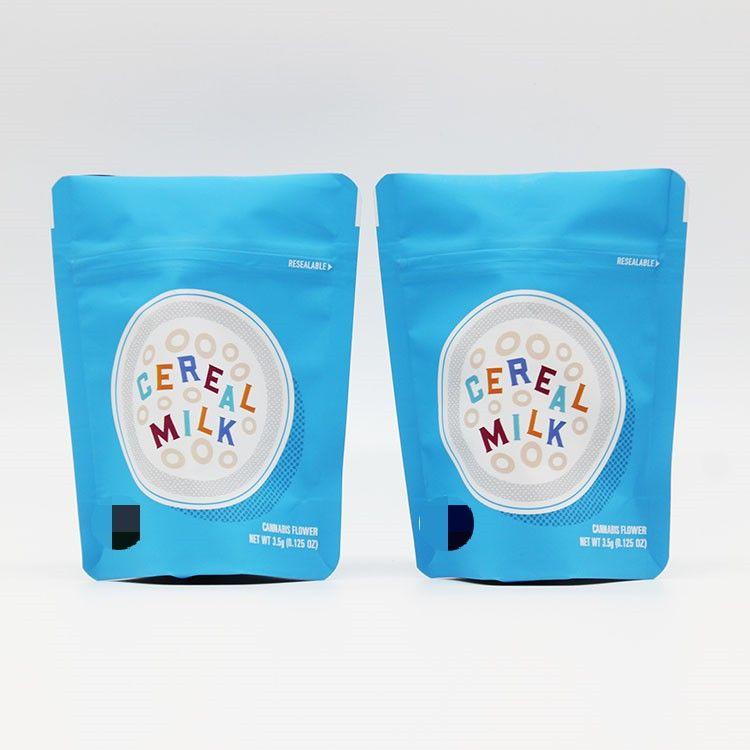 Bisküvi deodoran torba folyo alüminyum Özel ÇEREZLERİ TAHIL süt 3.5g Mylar çocukların açamayacağı Çanta Çerezler Çanta Fermuar çanta