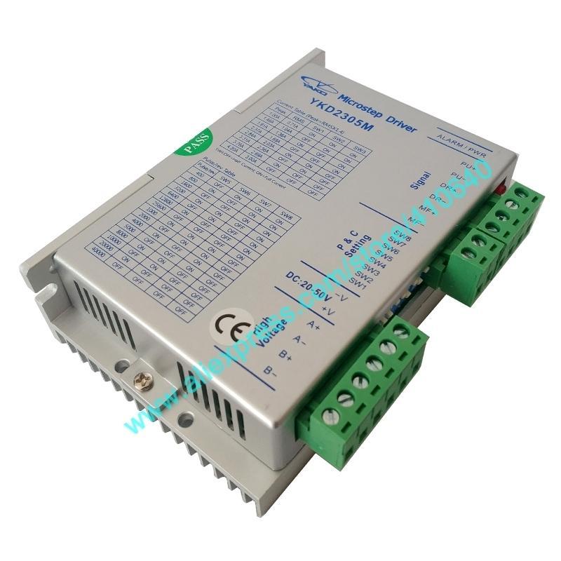 정품 YAKO YKD2305M BKD245M NEMA 17-34 스테퍼 모터 DC20 ~ 50 V 3A 용 스테퍼 모터 드라이브 무료 배송