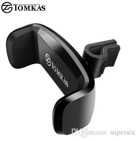 TOMKAS Soporte para teléfono móvil Soporte para teléfono en soporte de ventilación de aire para automóvil Soporte para teléfono móvil Soporte para soporte de coche universal