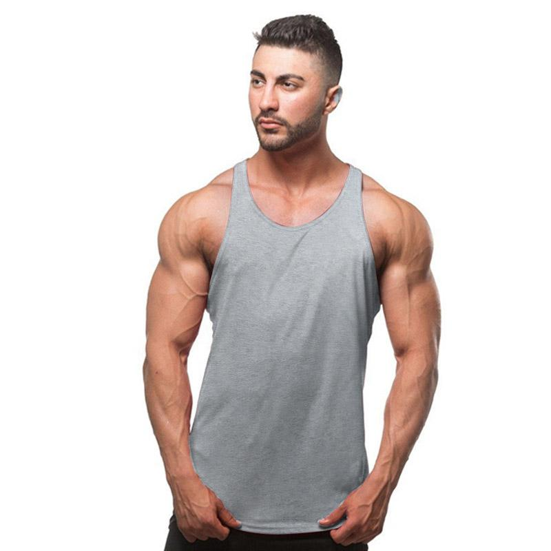 Men/'s Gym Muscle Quick Dry Breathable Sleeveless Shirts Workout Wear Tank Tops