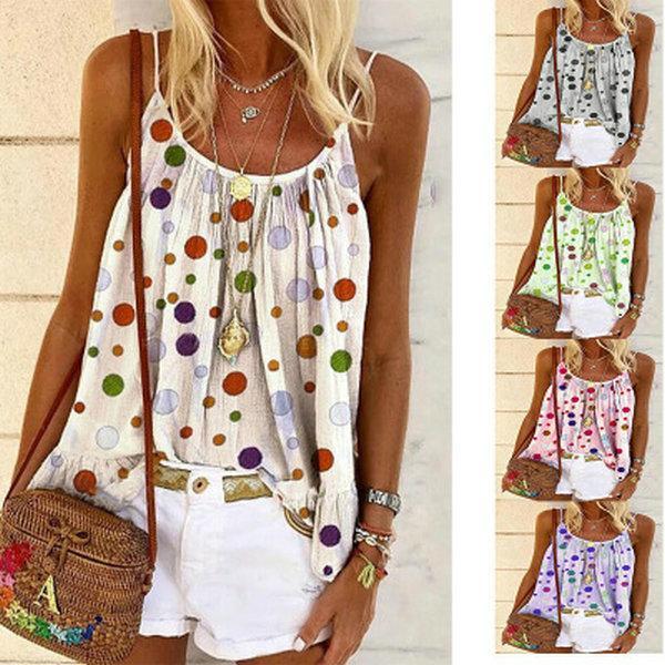 2020 моделей взрыва женщин врезки окрасить вокруг шеи жилета женщин футболки печати наружной слинг одежды лето, новая прямые продажи скидки
