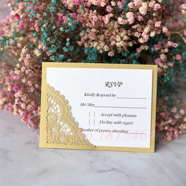 Rsvp Wedding Card Personalized Text Cards Greeting Invitation Cards Message Gift Cards Postcards Birthday Party Supplies Y19061704 Christmas Card