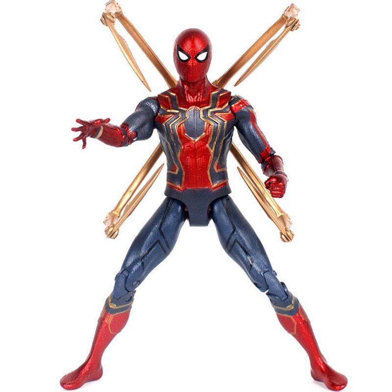Admirez les Avengers Iron Spider man Tamashii Stage avengers spiderman PVC Action Figure Collection Modèle Poupée Jouets Cadeau