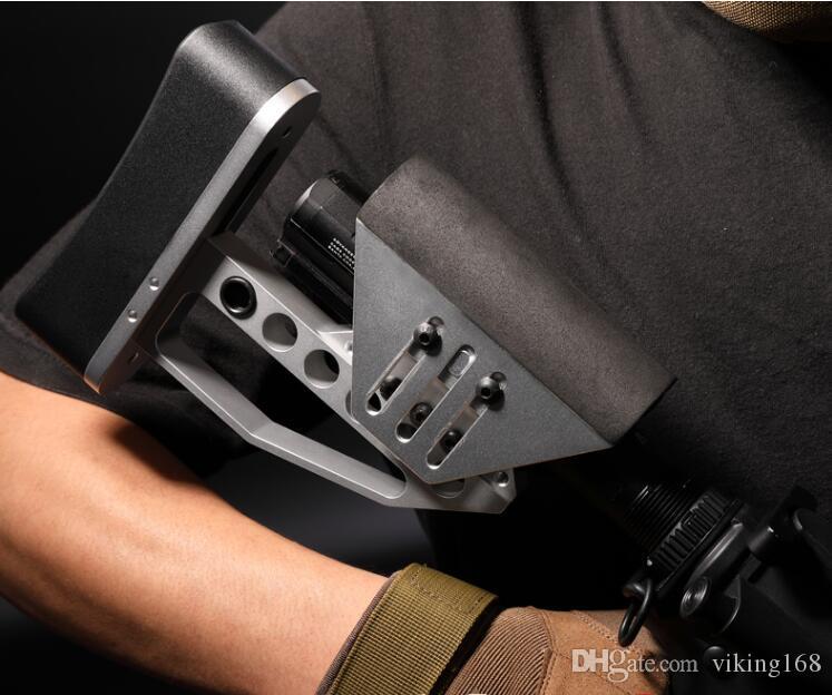 경량 TB Stock M4 HK416 Airsoft CNC 금속 XLR Buttstock AR15