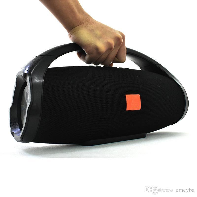 Hot Professional IPX7 Portátil Impermeable Al aire libre Columna HIFI Altavoz Bluetooth inalámbrico Subwoofer Sonido BoomBox Soporte Radio FM TF