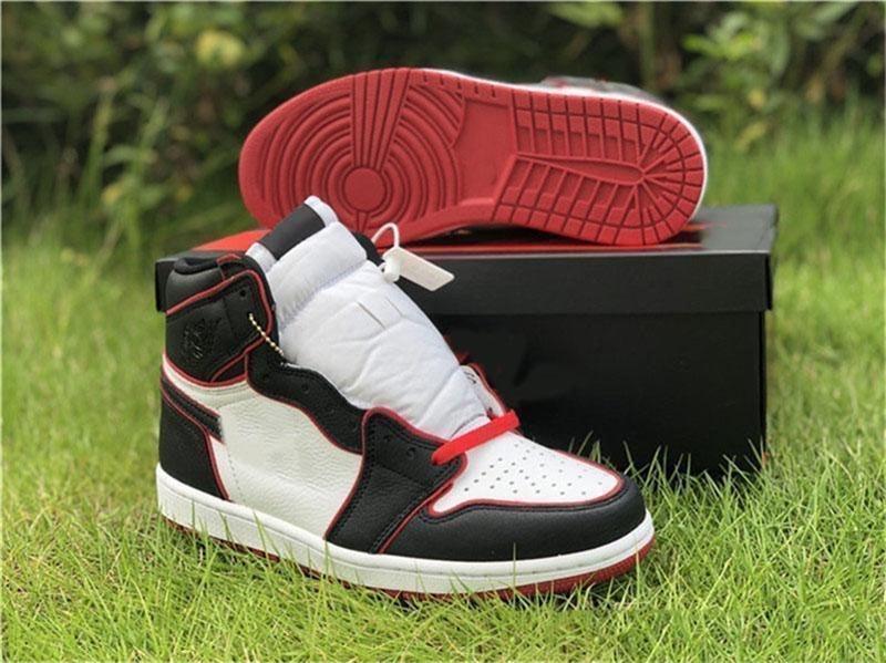 Miglior 2019 1 Retro alta Og Chi ha detto che l'uomo è stato non vuole volare scarpe da basket Wsmwnmtf Sneakers 555088 -062 autentici sportivi Size 7 -13