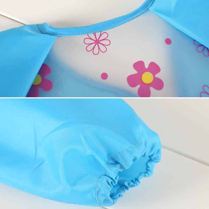 Cartoon Animal Baby Bibs Clothing Waterproof Long Sleeve Children Apron Baby Feeding Bib Burp Cloth Stuff