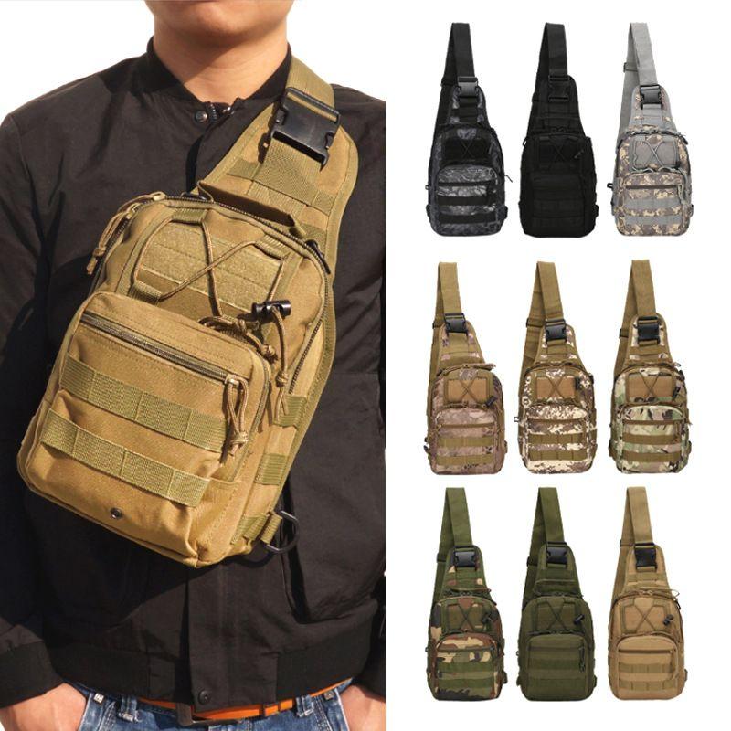 2020 Multicolor camouflage épaule militaire sac à dos tactique de chasse de camouflage extérieur alpinisme camping sac Moller 600D sac à dos