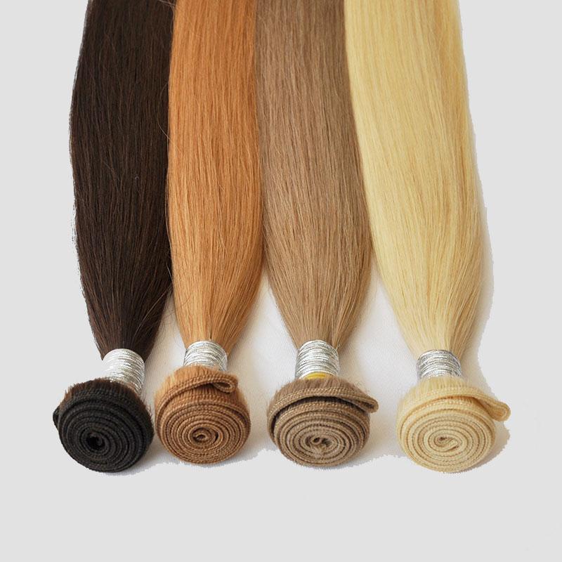 Blonde Farbe 613 # Haarwebart indische gerade Welle Haar-einschlag 3 Bundles 100% Menschenhaarverlängerung kein Verschütten keiner Verwicklung