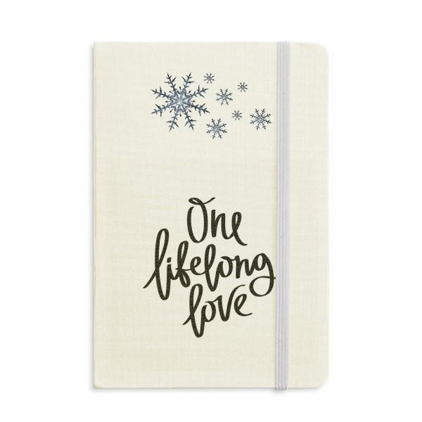 Bir Hayatboyu Aşk Alıntı Notebook Kalın Dergisi Kar taneleri Kış