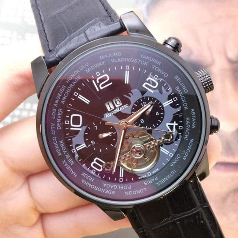 A2813 новый механизм с автоподзаводом наручные часы лучшие мужские дизайнерские спортивные часы механические из нержавеющей стали мужские часы с автоподзаводом