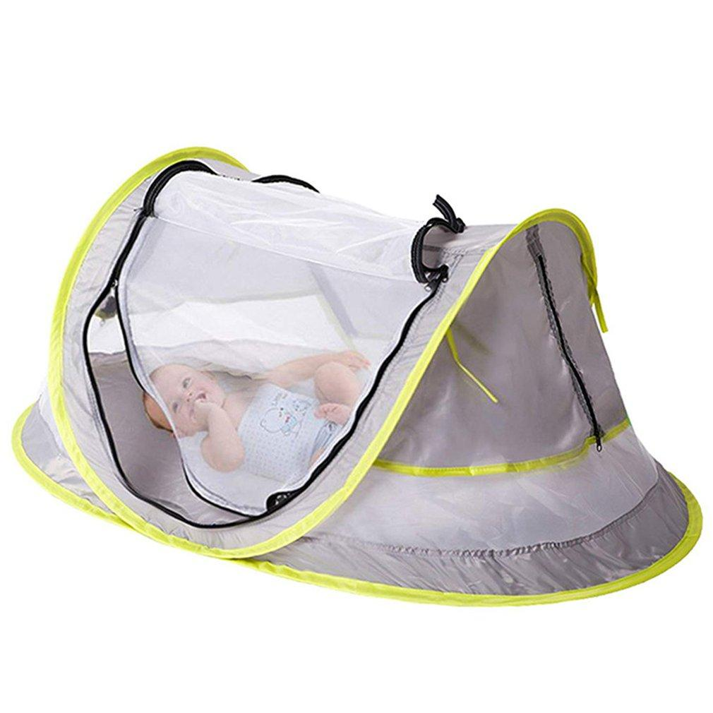 Folding Children's Beach Tent Infant Tent Multifunctional Mosquito Net Outdoor Indoor Baby Moving Bed