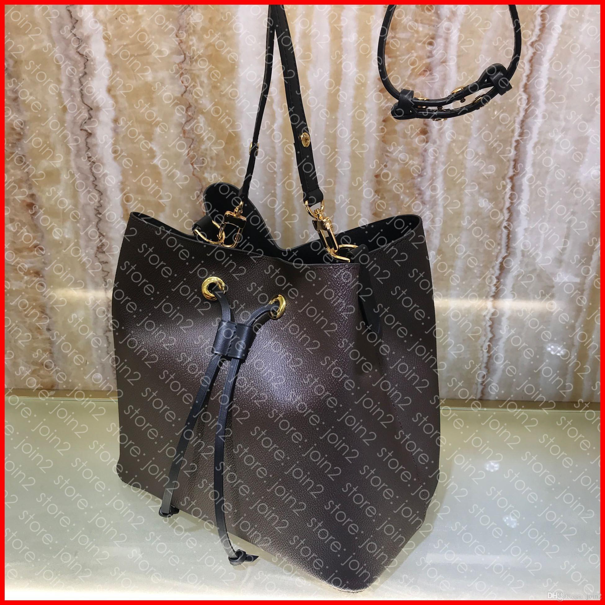 Pochette M44020 NEONOE MM diseñador para mujer del cubo del lazo Cruz cuerpo hombro del bolso de lujo accesorios bolsa Cle NEONOE PETIT NOÉ BB