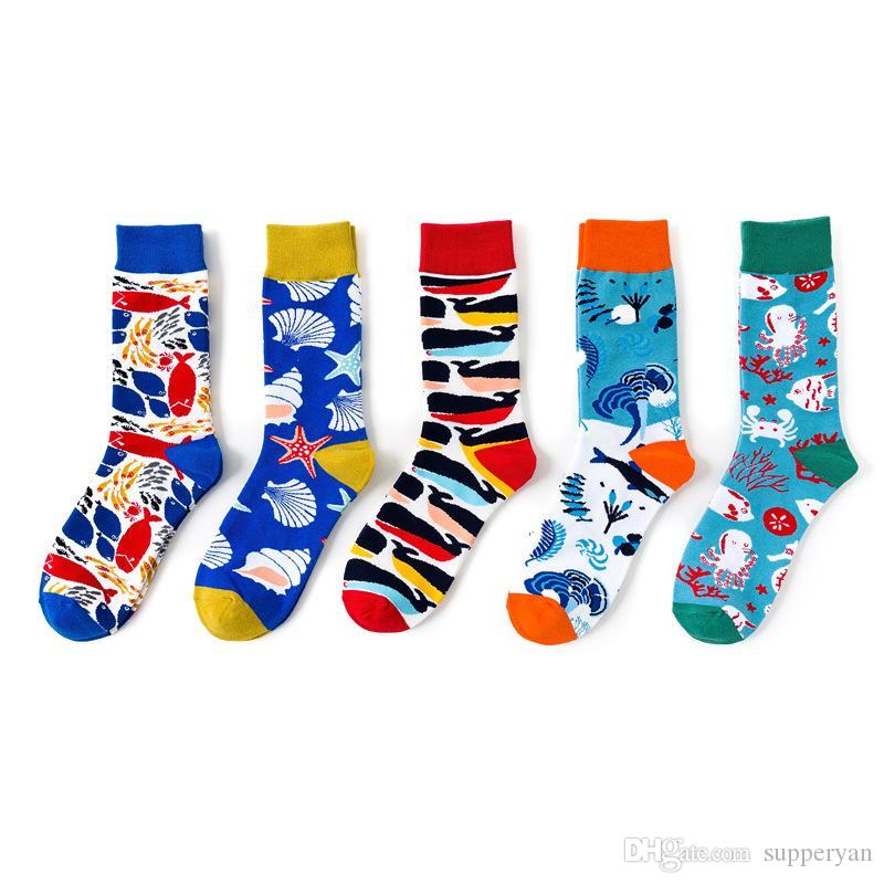 Adorable Penguins Compression Socks For Women Casual Fashion Crew Socks