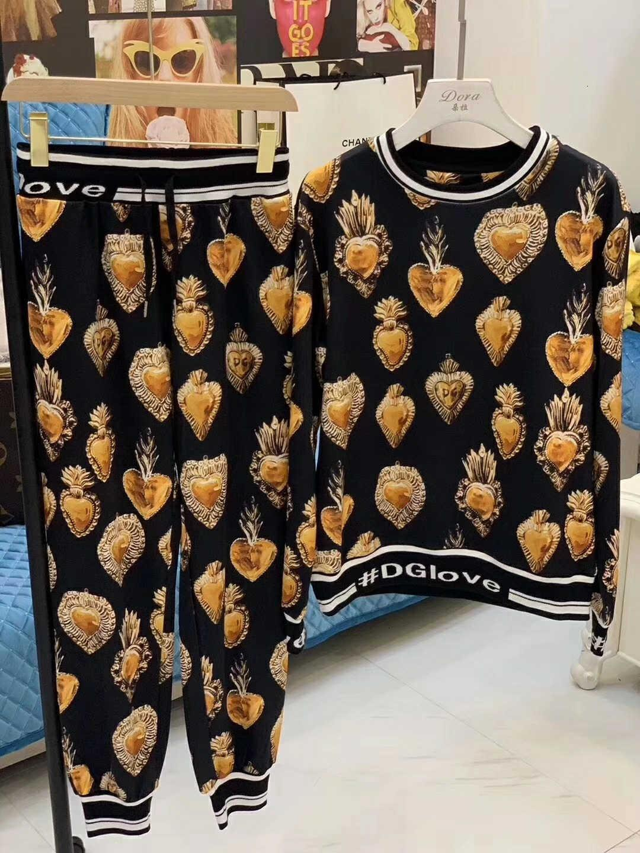 Frauen-Anzug Mode lässig Hose Set-Größe M-L Komfortable warme WSJ007 # 112160 kaiyi522
