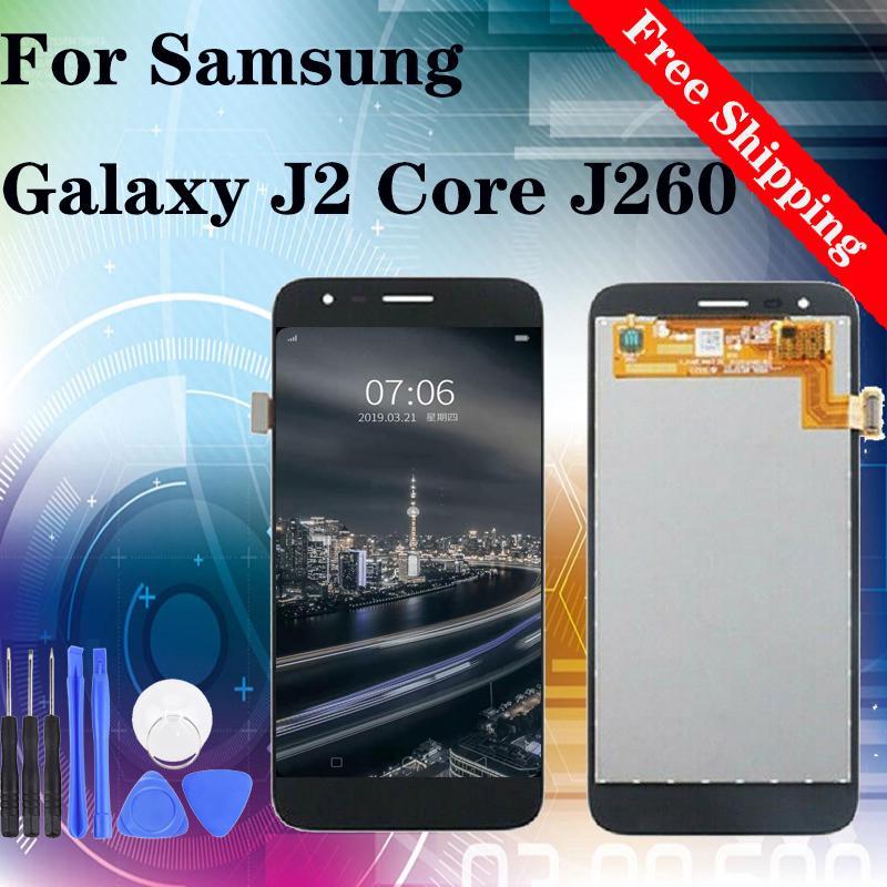 """5,0"""" Original для Samsung Galaxy J2 Основные J260 ЖК-дисплей дигитайзер с сенсорным экраном Замена Ассамблеи"""