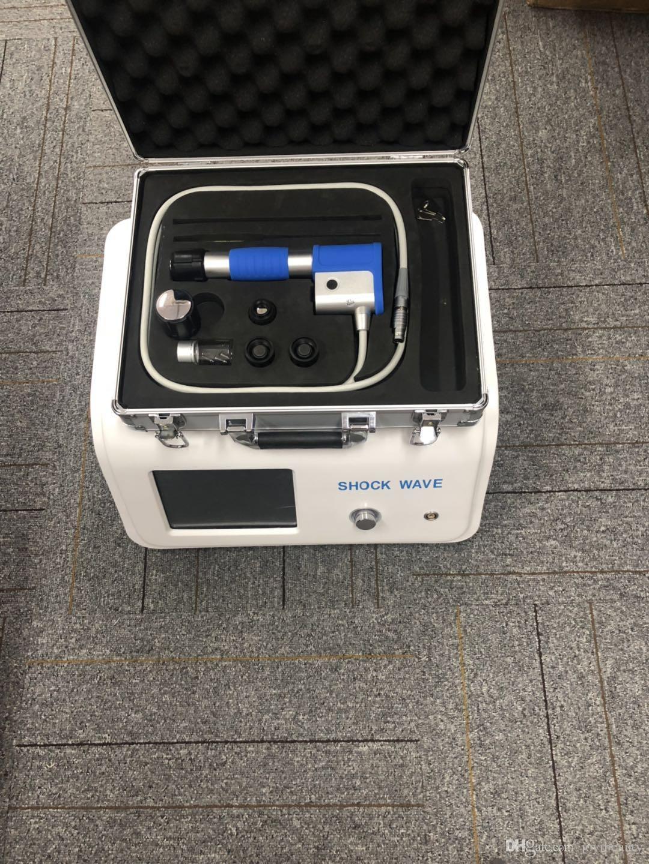 8 Bar Máquina de ondas de choque neumáticas Terapia de ondas de choque extracorpóreas Alivio del dolor Tratamiento de ED Tratamiento de la terapia de dolor físico Equipos de ondas de choque