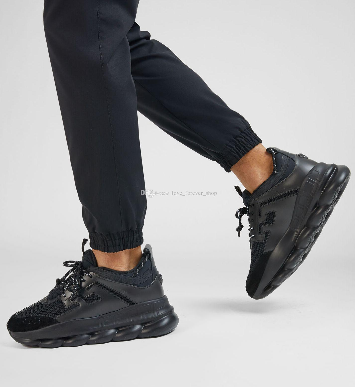 2019 ACE Chain Reaction Love Sneakers Sport Fashion Luxury Designer Casual