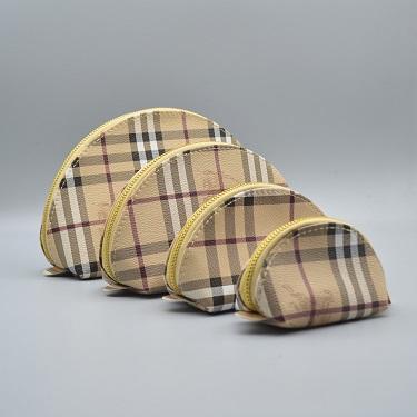 Novo saco de embreagem de quatro peça clássica retro xadrez para homens e mulheres