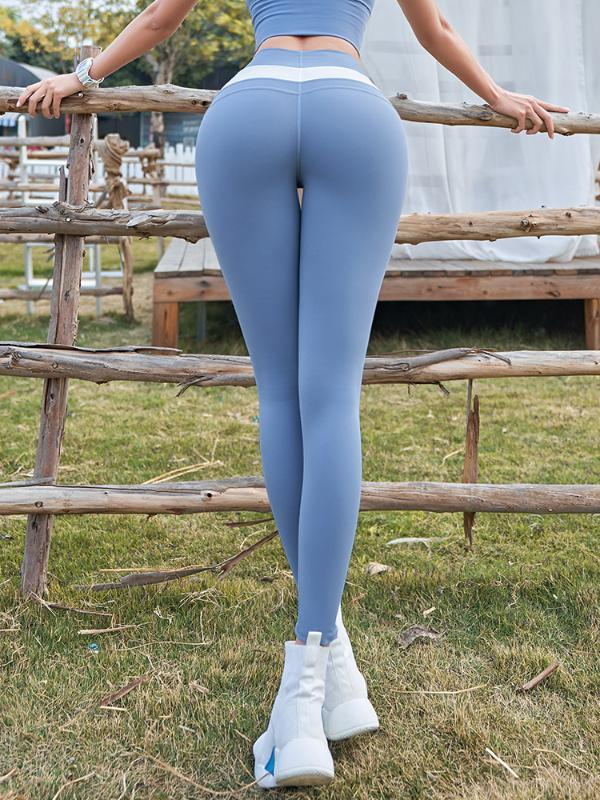 Lusure Фитнесс Брюки Женская высокой талией Raise Nude Peach Брюки Верхняя одежда Running йоги