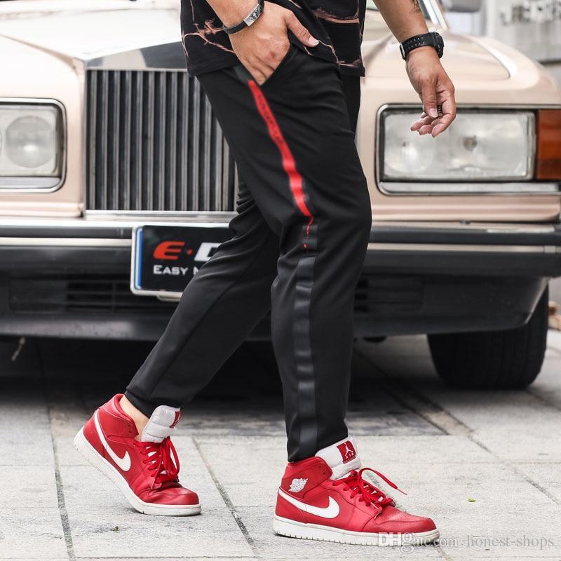 FASHION plus size 2xl-6xl men Sweatpants hiphop pants trousers Pattern tops men hip-hop trousers fat big elastic waist