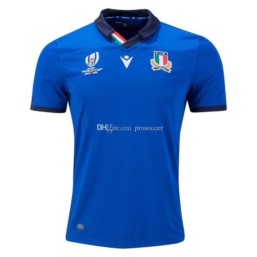 Copa do Mundo 2019 Itália Rugby camiseta camisa Maillot Camiseta Italia Maglia Tops S-5XL TRIKOT Camisas Kit
