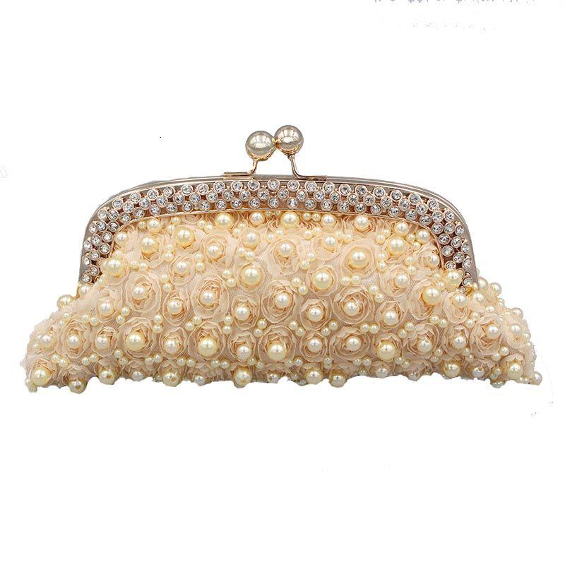 Femmes Sac de soirée robe de soirée de sac d'épaule diamant strass embrayages bourse d'embrayage Sac Obag Mini Bolsas Mujer