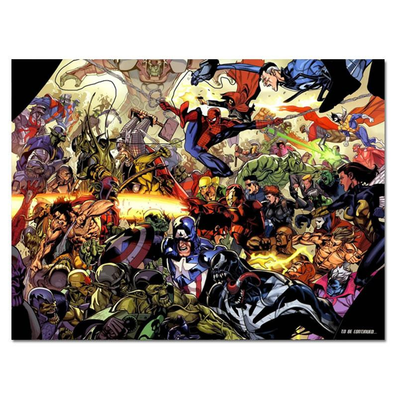 Çizgi roman Kahramanları İpek Poster Superhero Wall Art Posters Baskılar Vintage Ev Dekorasyonu Resimleri Ev Yatak Odası Dekorasyon Şekil