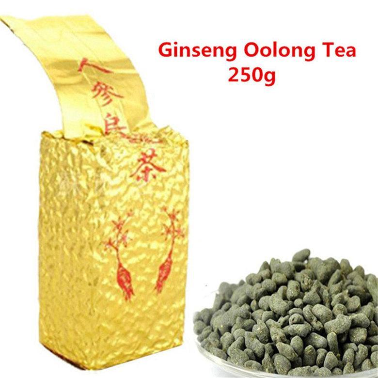 250g organico Ginseng Oolong tè fresco bellezza naturale Oolong Tè cinese di alta qualità Oolong tè sano verde Cibo Promozione