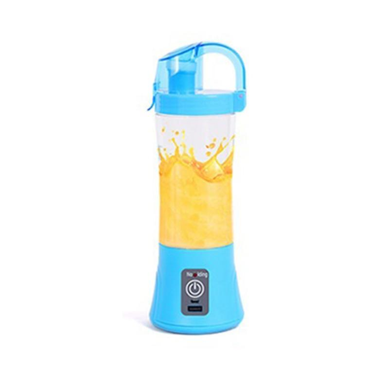 Portable Household Electric Juicer Mini Juice Cup Small Rechargeable USB Juice Cup Beat Eggs Round Shape