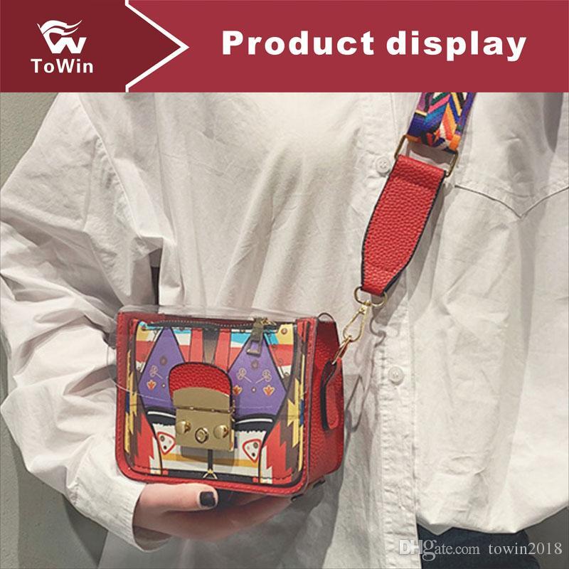 High Quality Designer Handbag Luxury Flap Bag Wallet Famous Brand Women Artwork Sling Bags Trend Crossbody Bag Fashion PU Shoulder Bags Tote