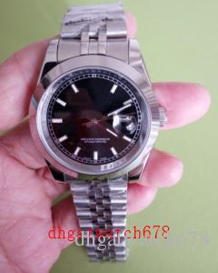 Luxus Topselling Qualitäts-Armbanduhr-Datejust 126300 41mm Zifferblatt schwarz Edelstahl Asia 2813 Uhrwerk Automatik Herren-Uhr-Uhren
