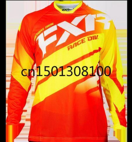 FXR MTB off-Road MOTO 2020 novo inverno Motocross Camisetas Dirt Bike ciclo da bicicleta MTB Camisetas Downhill motociclismo Jersey