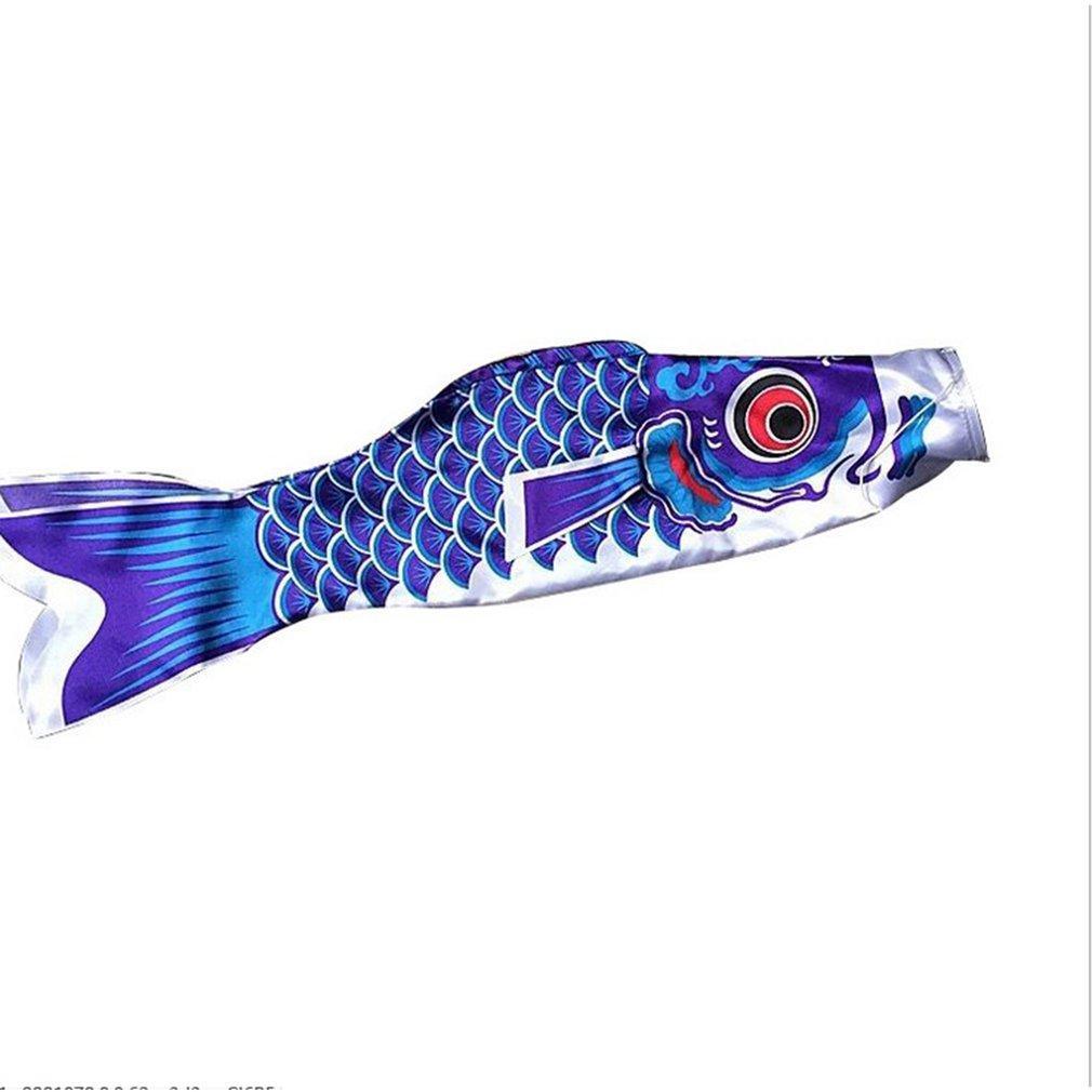 Новый 55 см Koi Nobori водонепроницаемый японский карп Windsock серпантин висит красочные рыбы флаг декор Кайт Koinobori для детей