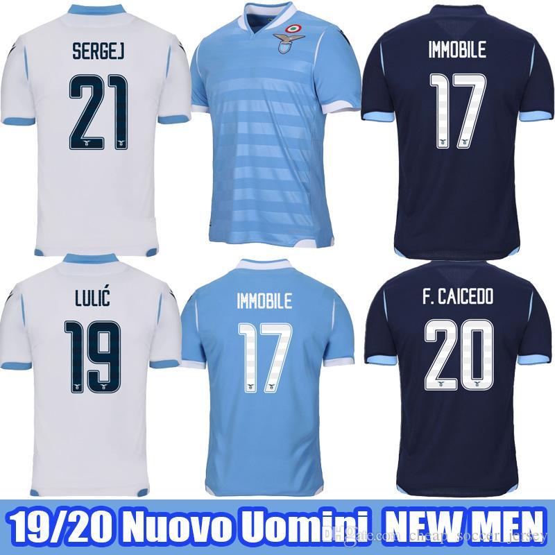 2021 2019 2020 Lazio Soccer Jersey 19 20 SS Lazio IMMOBILE SERGEJ ...