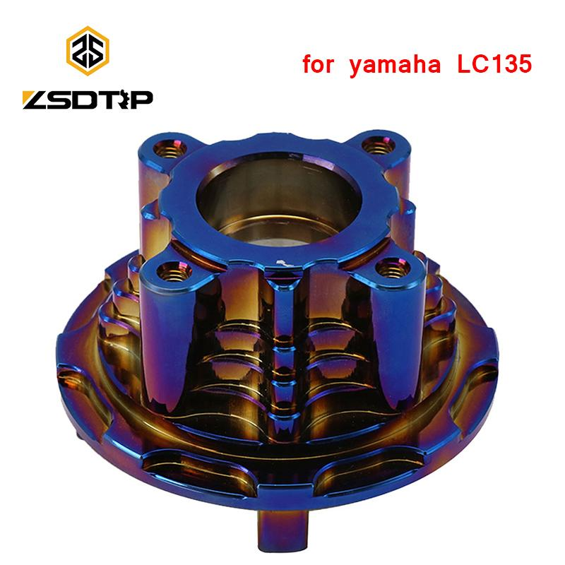 ZSDTRP motocicleta Repuesto Piñón Hub Para LC135 CNC Motor Accessories