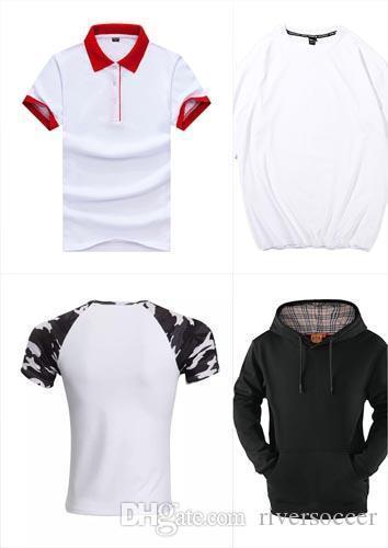 Clásico polo de los hombres de seda de fibra de manga corta de la camiseta uniforme o Mujeres camisa larga WDSE-096