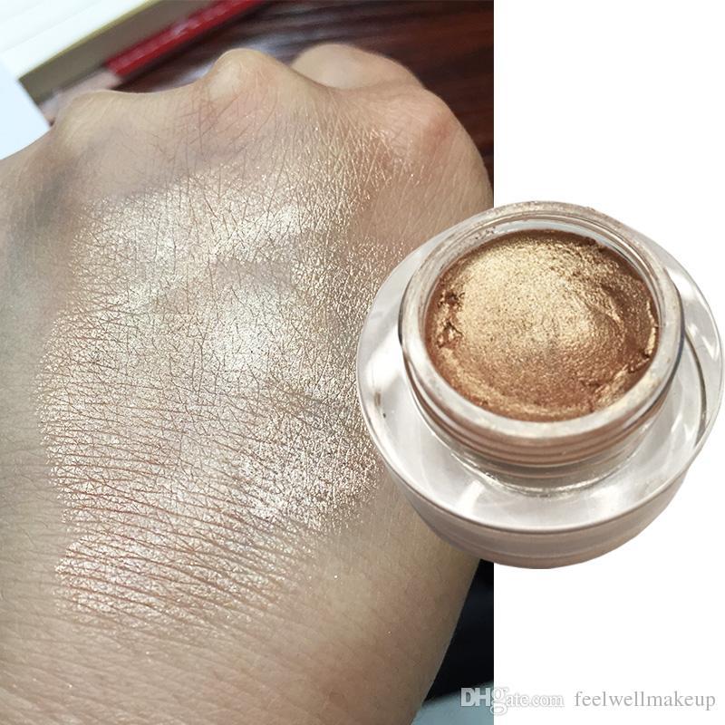 RedBlack Face Highlighter Gel Sombra de ojos Glow Body Glitter Festival Maquillaje iluminador Gold Liquid Highlighter Pink Bronzer